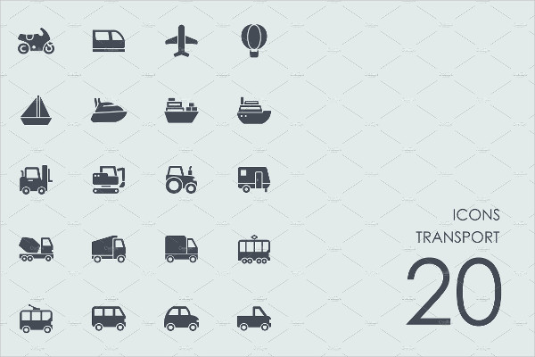 20 Transport Icons