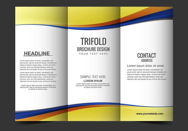 Tri Fold Brochure Template Free