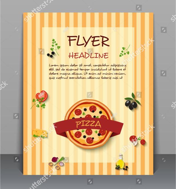 Unique Pizza Flyers Design