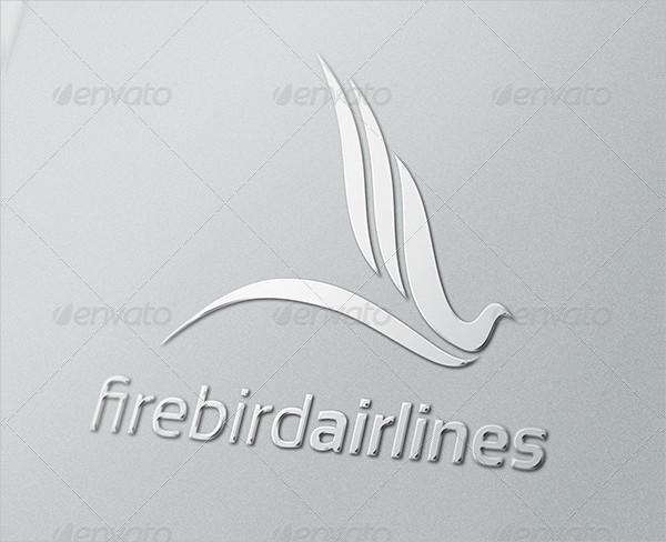 Unique Firebird Airlines Logo Template