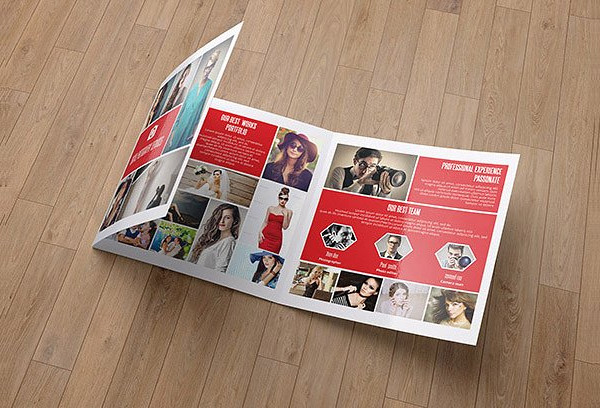 Unique Photography Agencies Brochure Template