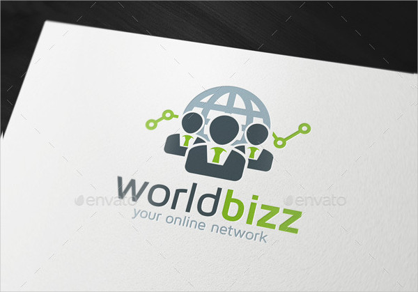 Unique World Business Logo Template