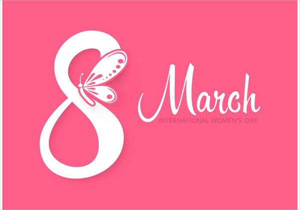 Free Vector Womens Day Greeting Card Download