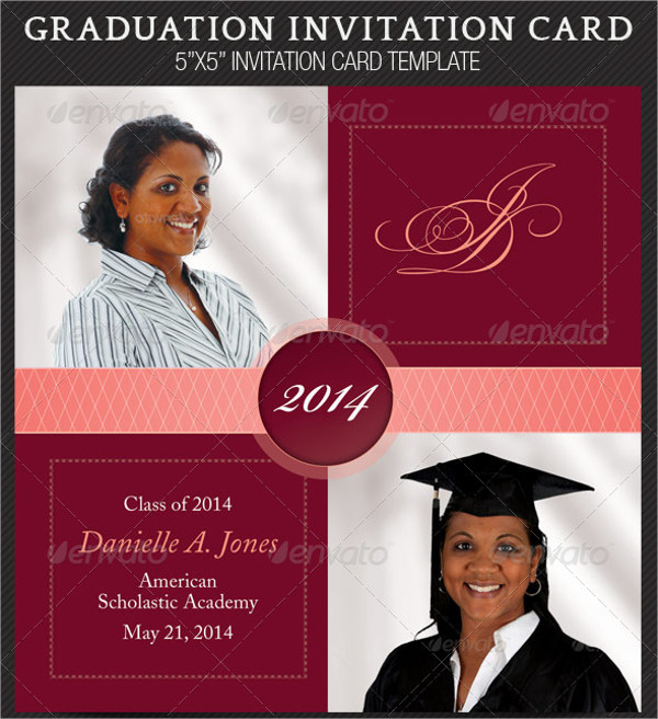 Perfect Graduation Card Template