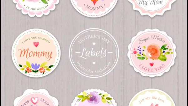 Vintage Womens Day Badges
