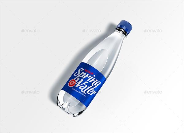 Water Bottle Presentation Label Template