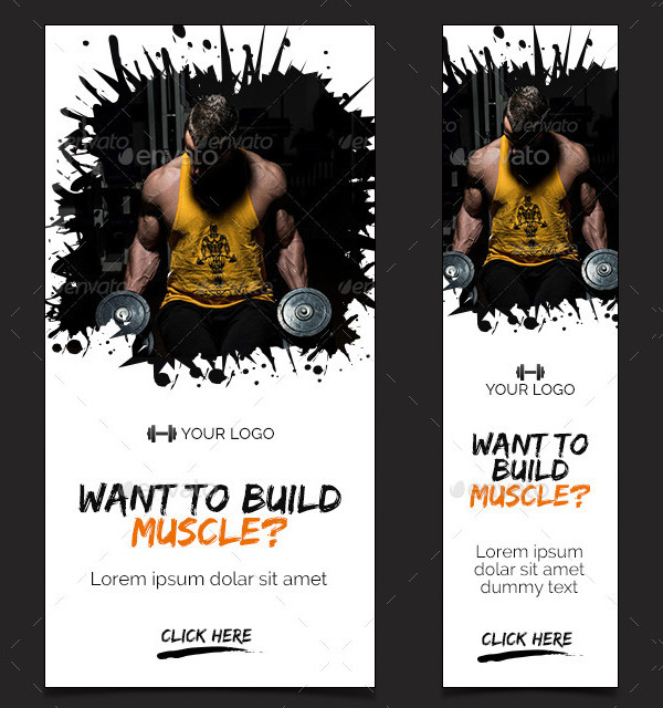 Awesome Fitness Banner Templates