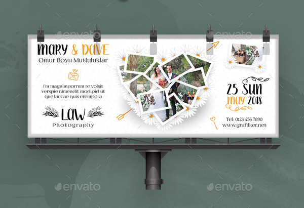 Wedding Billboard Templates