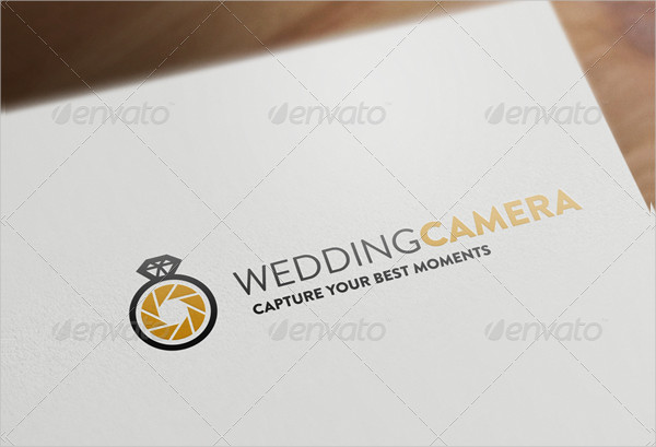 Wedding Camera Logo Template