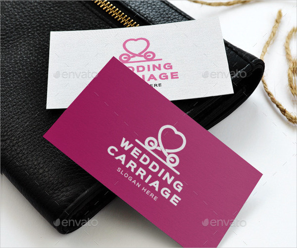 Wedding Carriage Logo Template