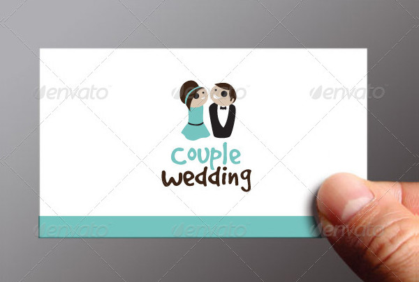 Wedding Couple Logo Template