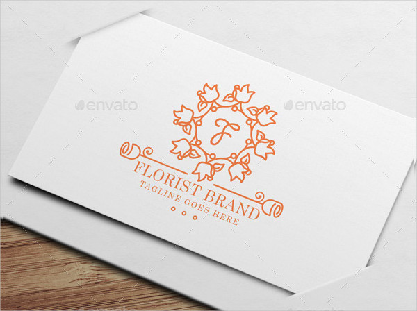 Wedding Florist Logo Template