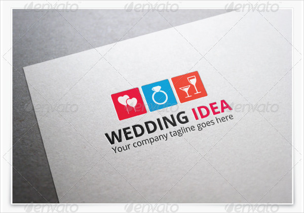 Wedding Idea Logo Template