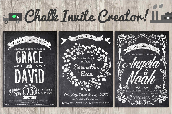 Wedding Save the Date Vintage Event