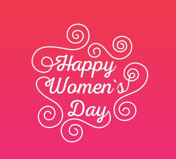 Women's Day Greeting Card Free Vector
