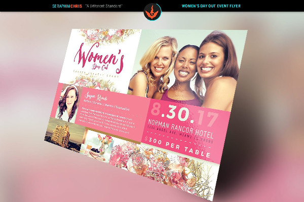Women's Day Out Cancer Flyer Template