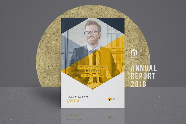 Minimal Business Annual Report Templates