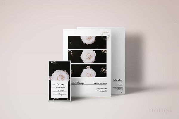 Printable Postcard & Business Card Kit