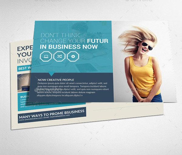 Business Designer Postcard Template