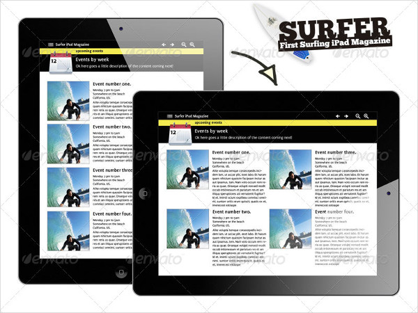 iPad Sports Magazine Templates Bundle