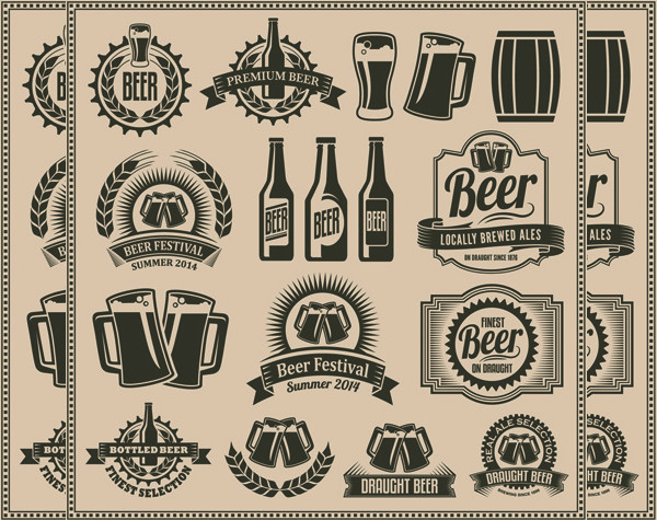 Free Retro Beer Labels Download