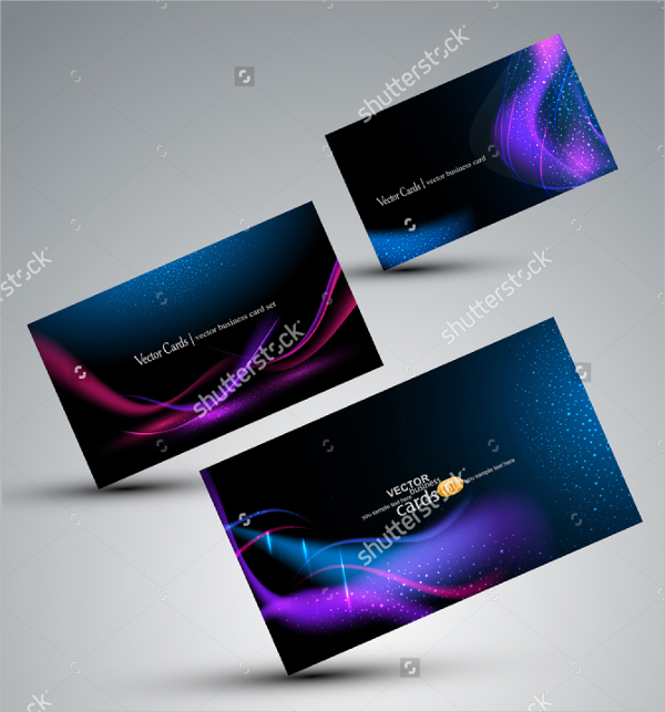 Vector Visiting Cards Design