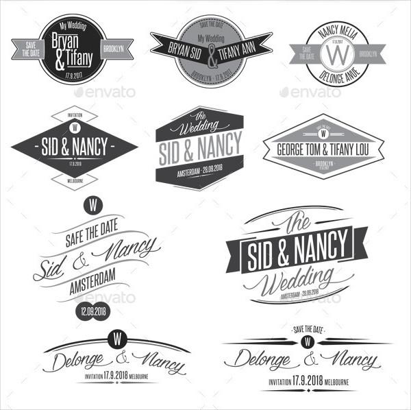 10 Printing Wedding Badges