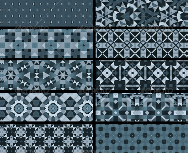 12 Beautiful Snowflakes Patterns