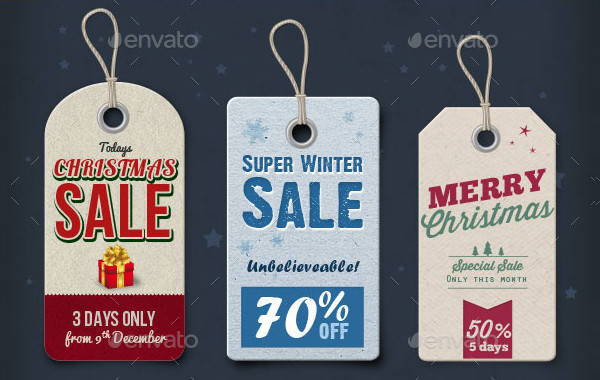 15 Christmas Price Tags