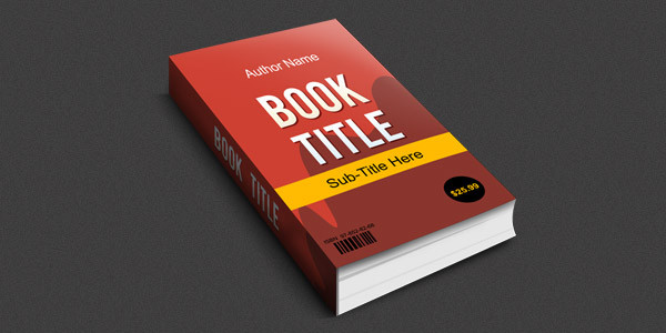 Smart Objects 3D Book Mock-up Free PSD