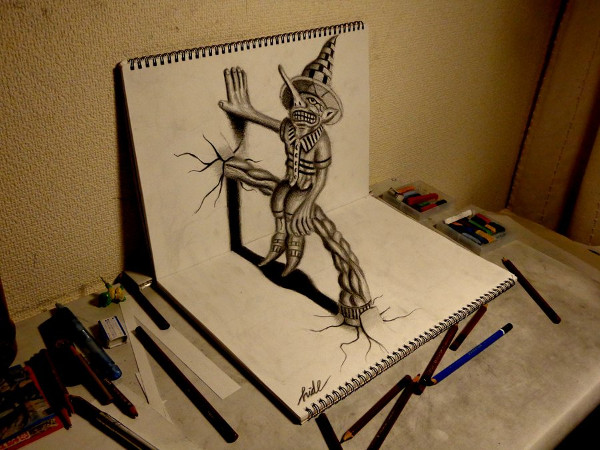 3D Drawings - Residents on the Sketchbook