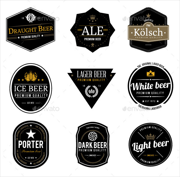 9 Popular Beer Labels