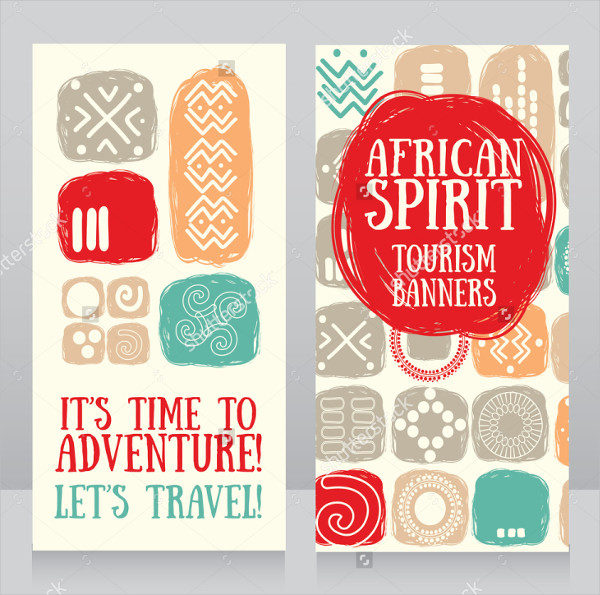 Hand Drawn Style Tourism Banners