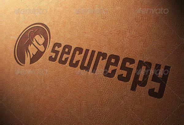 Secure Spy Logo Template