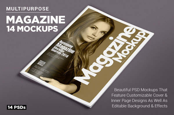 Magazine Ad Mockups Bundle