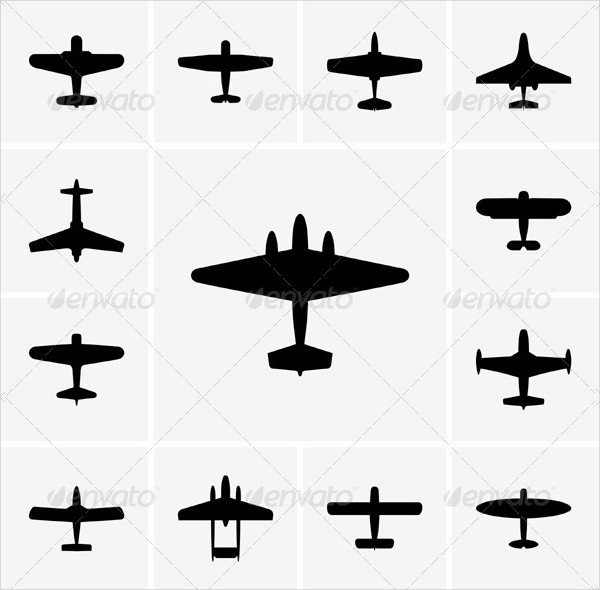 Airplane Icons for Mac