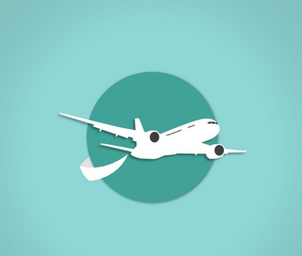 Airplane icon Free Download