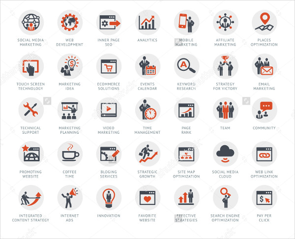 Internet Marketing & SEO Services Icon