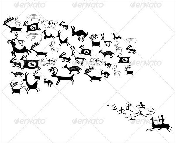 Ancient Animal Drawings and Symbols