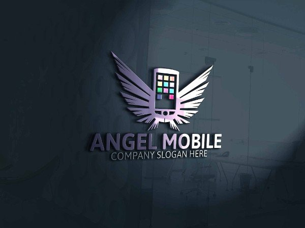 Angel Mobile Logo Template