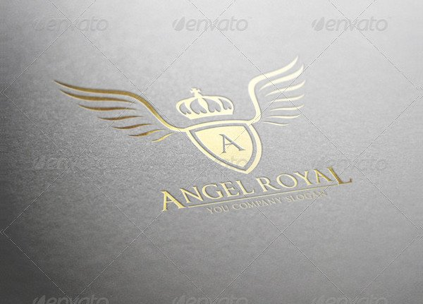 Angel Royal Logo Template