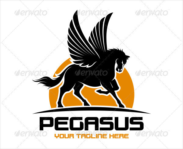 Great Pegasus Logo Template for your Company