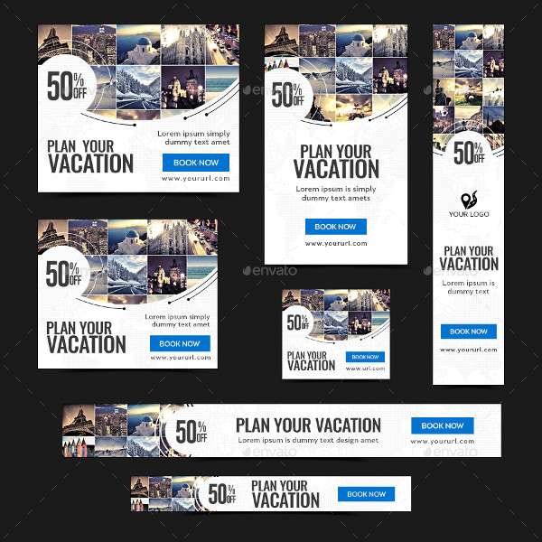 Animated Travel Banners