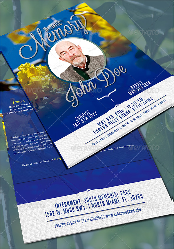 Promotional Arsenal Funeral Program Bundle