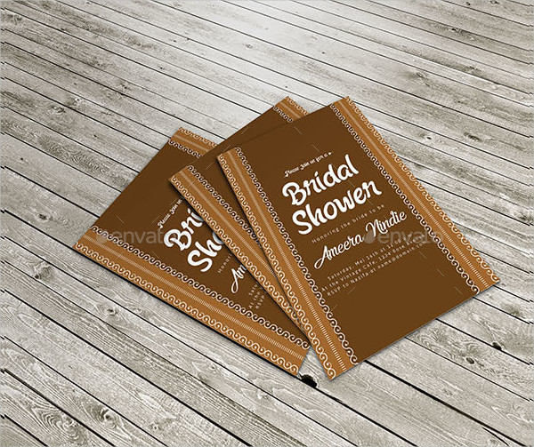 Attractive Bridal Shower Invitations
