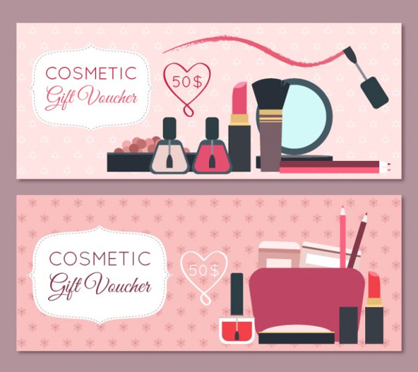 Free Banners of Beauty Products
