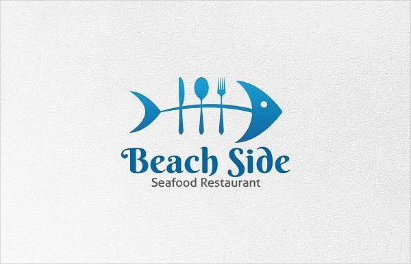 Beach Side Logo Template