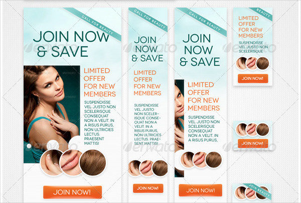 Beauty & Spa Web Banners