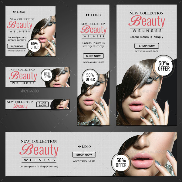 Best Beauty Banner Template