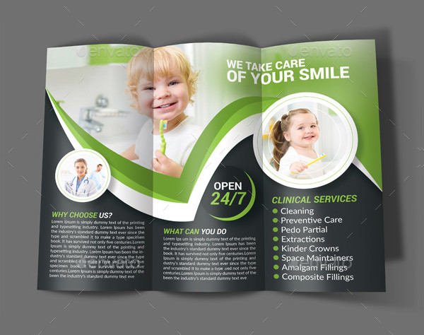 Best Dental Brochure Design